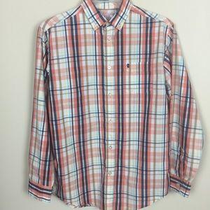 Boys IZOD Sz L 14/16 Button Down Shirt 👔